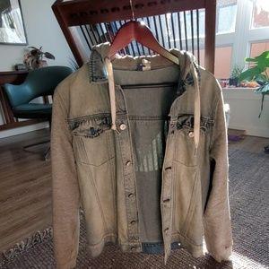 Men's Hip Denim Jacket